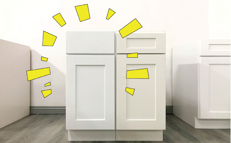 Frosted White Shaker (RTA Cabinet Store): great cabinet, but off-white paint