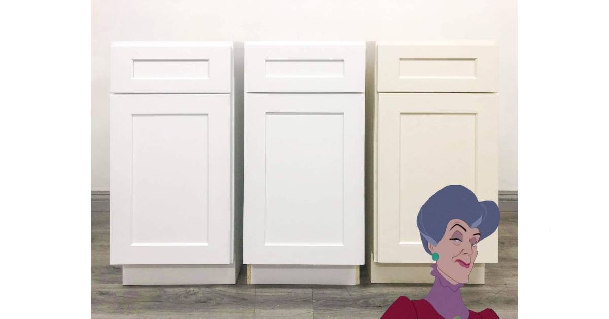 Picking our favorite child: Comparing the three Shaker Cabinets from Kitchen Cabinet Depot